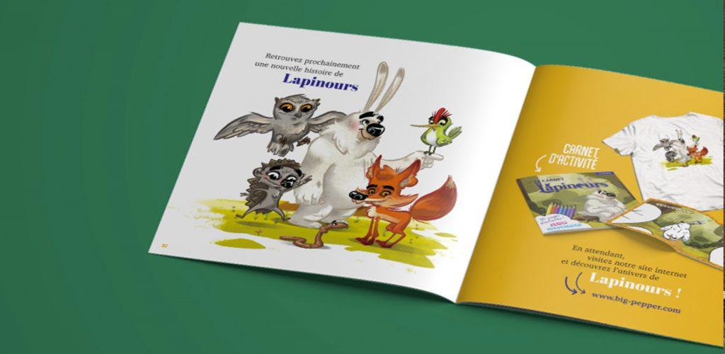 interieur livre présentant des illustrations