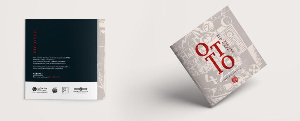 détails du livret Otto DIX