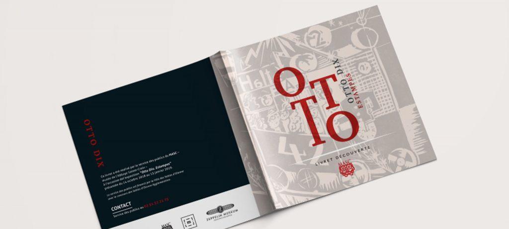 Couverture du livret Exposition Otto DIX
