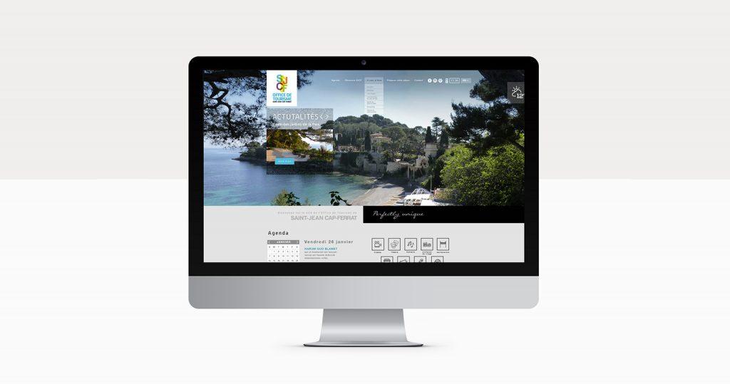 incrustation webdesign dans un Imac