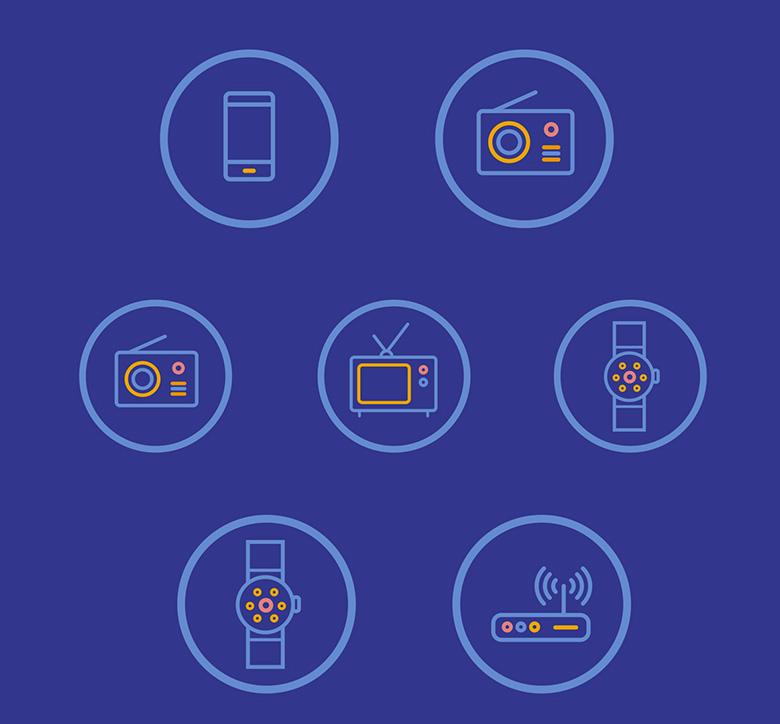 design d'icons réalisé par le YAk
